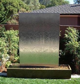 stainless waterwall