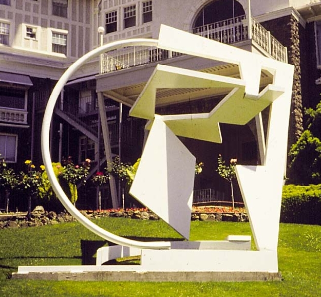 "Monumental steel sculpture ""Arica"" - pubic art"