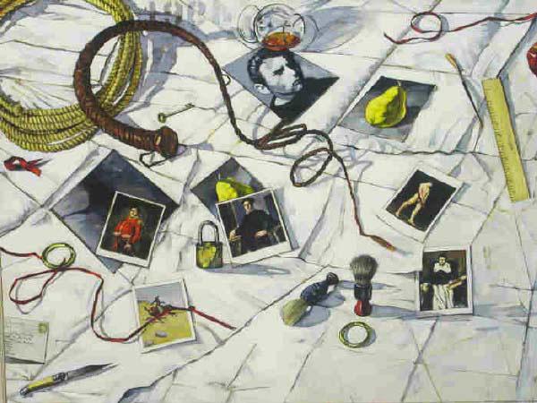 "John Fincher oil on canvas 36""x48"""