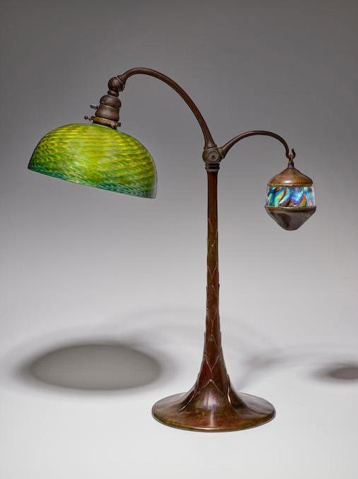 Tiffany Counter-Balance Lamp circa 1905
