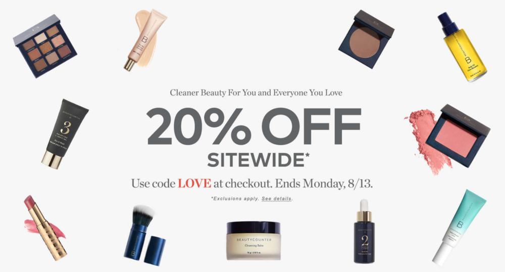 BeautyCounter Sale