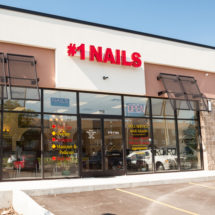 #1 NAILS<br>LEXINGTON, KY