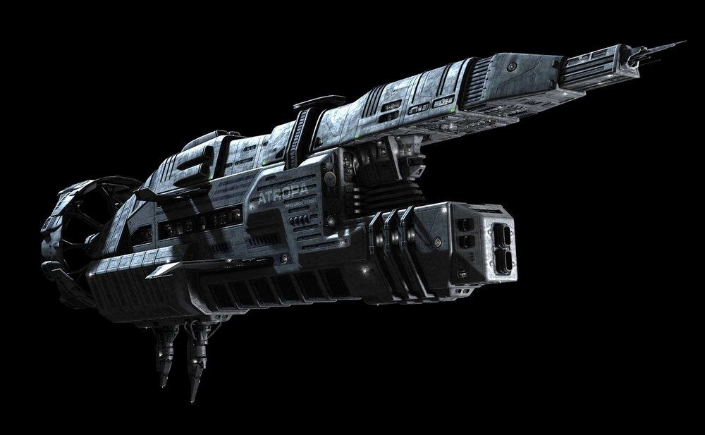 ATROPA – Ship Model