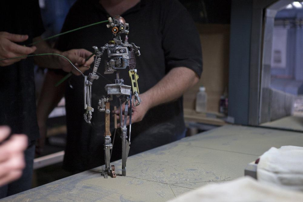 HENRi –Rod Puppet