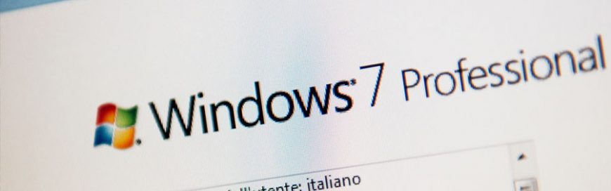 No more extended support for Windows 7
