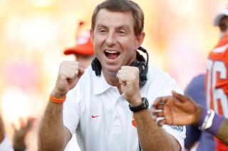 2016 National Champion, Dabo Swinney, believes in the power of love.