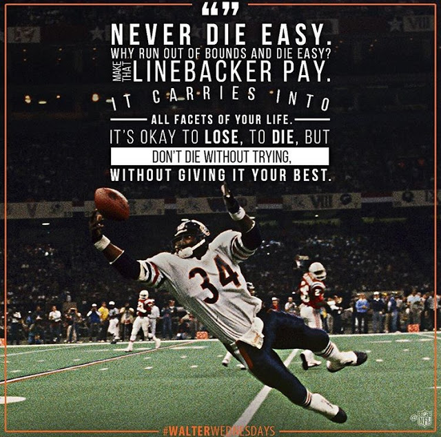 Wisdom from one of the greatest of all-time: Sweetness
