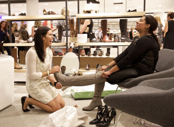 Give your customers that Nordstrom personal shopper type service