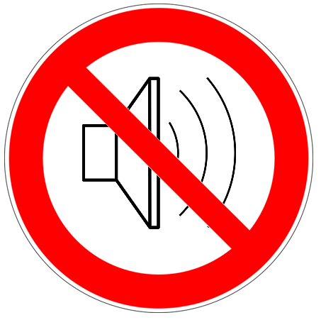 No Loud Sounds