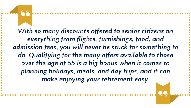 senior citizen discounts quote