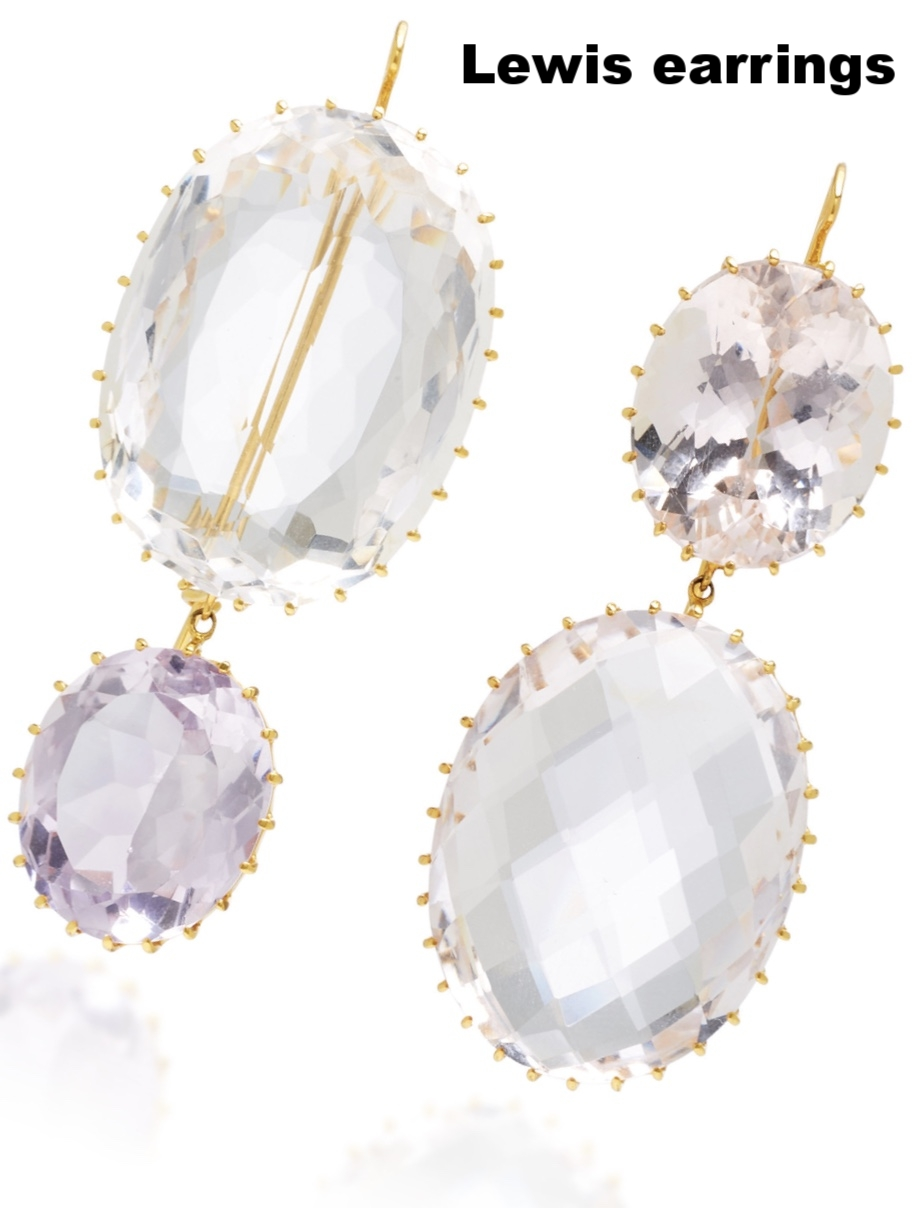There is no better time to invest in one-of-a-kind jewels than your wedding day. Consider forgoing traditional pearls and try oversized gemstones that will add a much-needed backlight for your complexion.