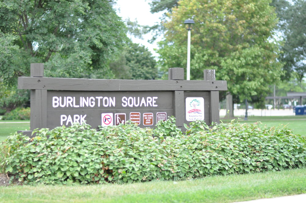 Many of the apartments overlook quiet and picturesque Burlington Square Park.