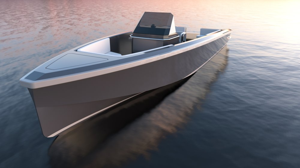 All electric tender  - Our all-electric superyacht tenders perform on a par with diesel-powered electric tenders and can be created in any style to match the mothership aesthetic