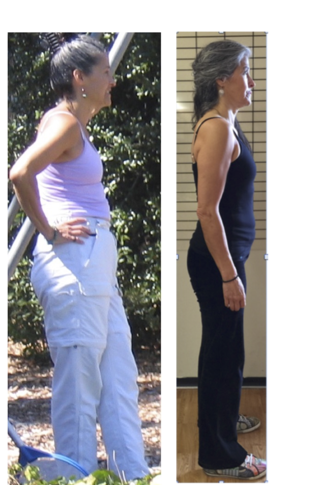 Paloma, who now teaches Spinefulness. She is 13 years older in the photo on the right.