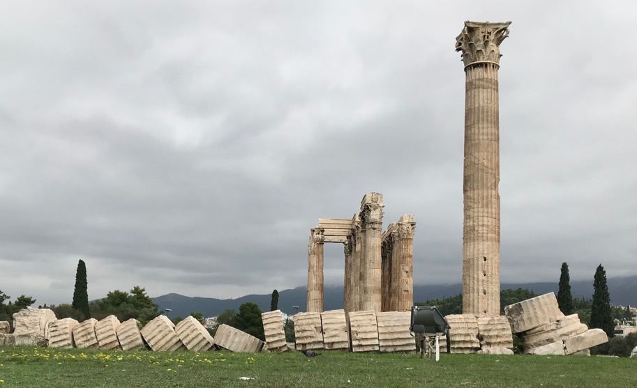 Stone columns fall. Bone columns just get sore