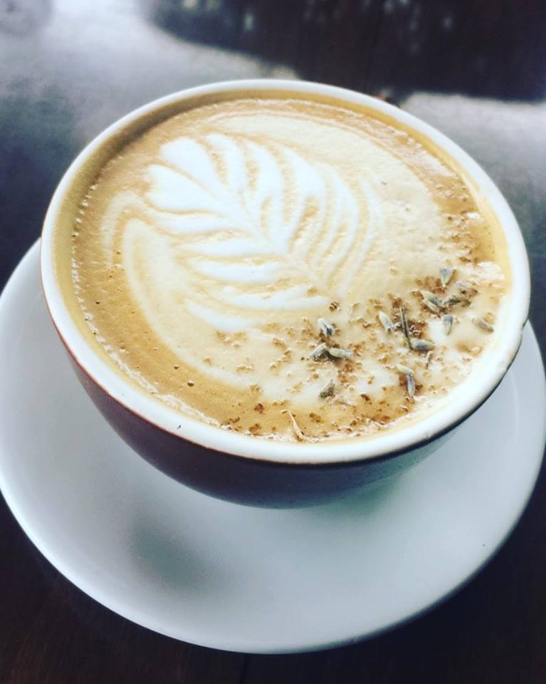 Thank you to Dottie's Coffee Lounge in Pittsfield, MA for your delicious lavendar latte!