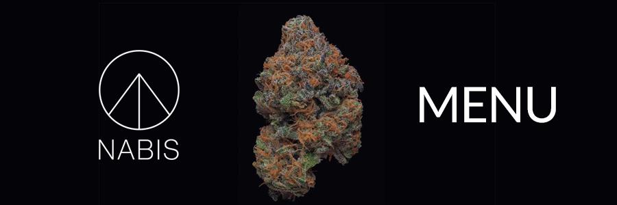Nabis Cannabis Menu