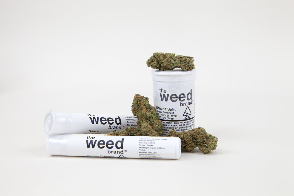 The Weed Brand - pre-rolls, flower