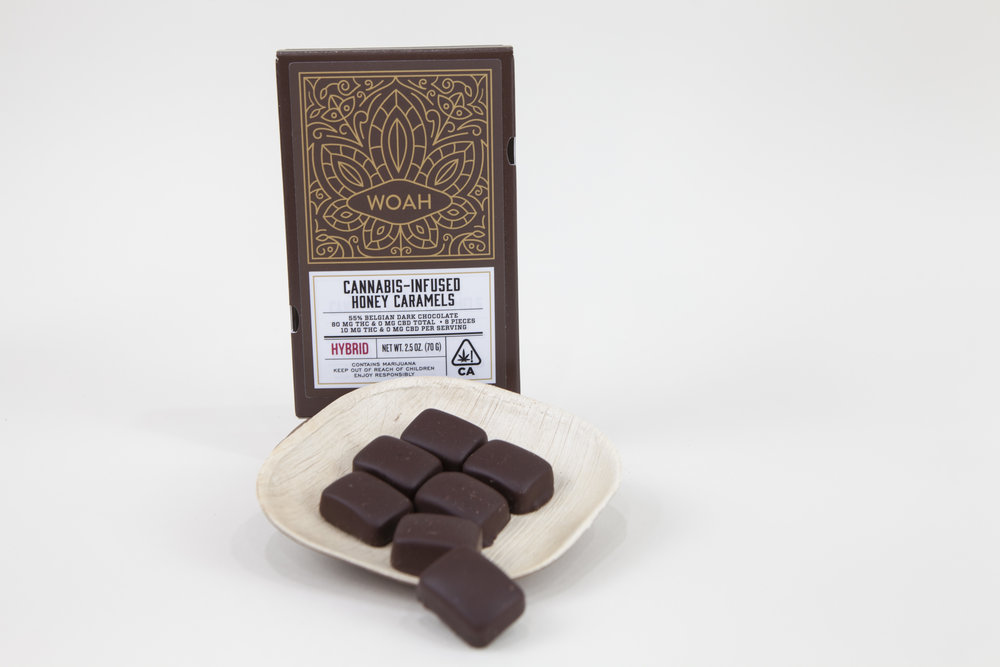 WOAH CANDY CO. - THC-infused caramels