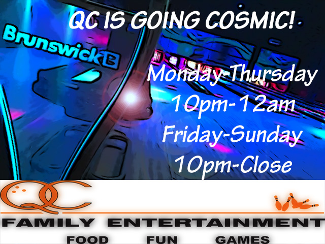 For the first time ever, we are dimming the lights, powering the runways, dropping the projector screens and cranking up the party. Every. Night. Of. The. Week. -