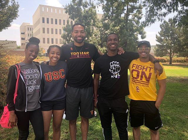 USC NSBE members had a great time at the NSBE Olympics at Cal State Fullerton! Our USC NSBE members won 3/5 of the events held. #whosehouse? #regionsix