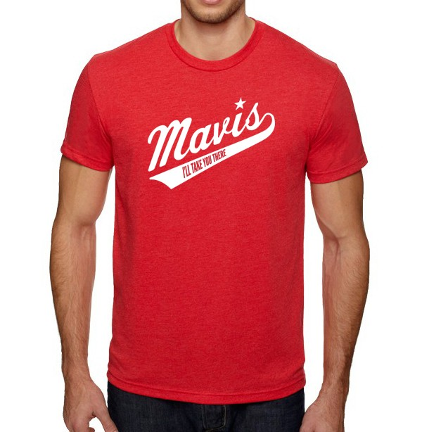 Red Baseball Logo T