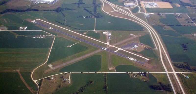 Omar N. Bradley Regional Airport: Runway 5 - 23 Construction