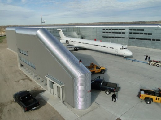 Spirit of St. Louis Airport: Ground Run-Up Enclosure (GRE)