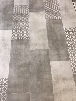 Castle Porcelain Linen Floor Tile – Gray — Bellezza Ceramica Inc.