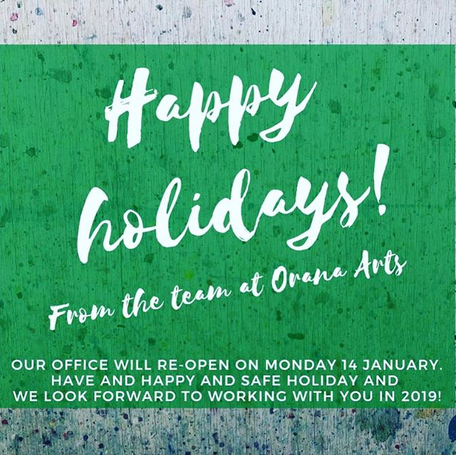 After an enormous year of arts and cultural development, the #oranaarts team is now on a break to recharge for an even bigger 2019! We'll be back on Monday 14 January for #askanartsworker held at the @mudgeearthouse in #Mudgee and looking forward to talking projects and plans with the #community to kick off #2019goals! Check out the @oranaarts Facebook event for details and other Ask an Arts Worker locations and meanwhile - have a terrific holiday 🎉🎉🎉🎉