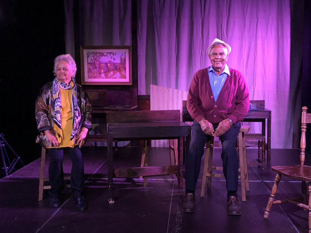 Ruth and Dick Carney on stage CREDIT Portia Lindsay.jpg