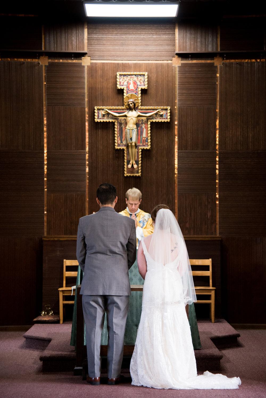 Catholic Wedding Ceremony Photography Kyla Jo Photography