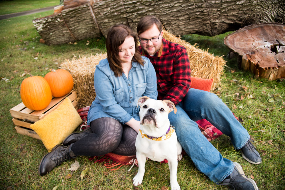 Fall Minis with Kyla Jo Photography // Ashley, Zach, & Dorothy