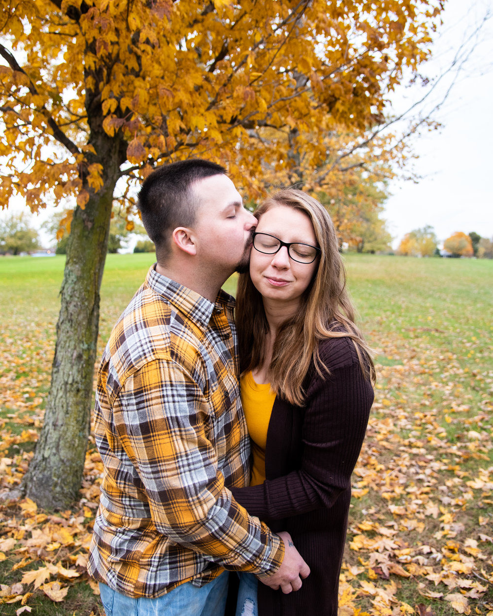 Couples Photography Fall Photos Family Photography Muncie Indiana Kyla Jo Photography