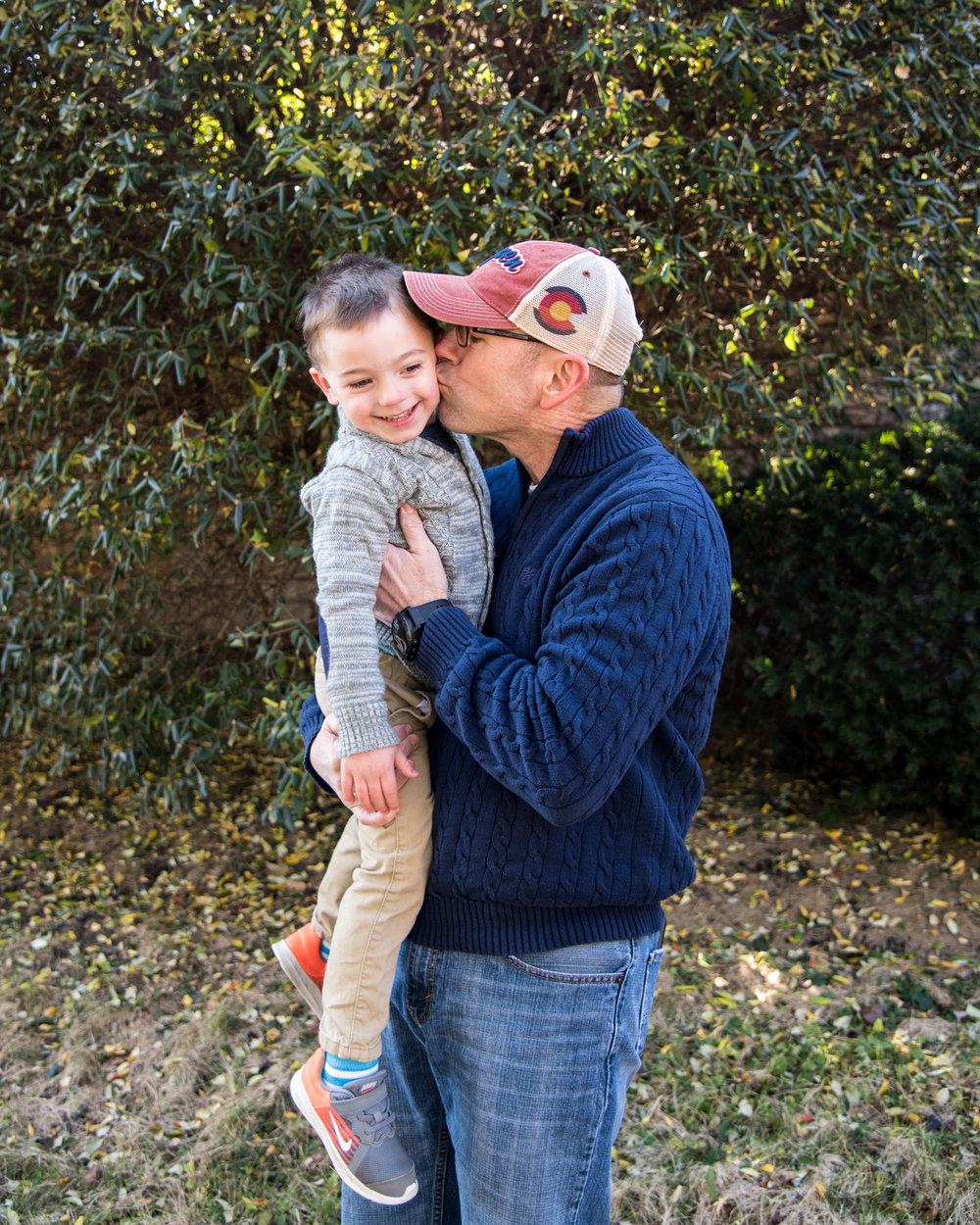Kyla Jo Photography // Muncie, Indiana // Midwest Photographer // Family Photography in Indiana // Grandpa and Grandson Photos