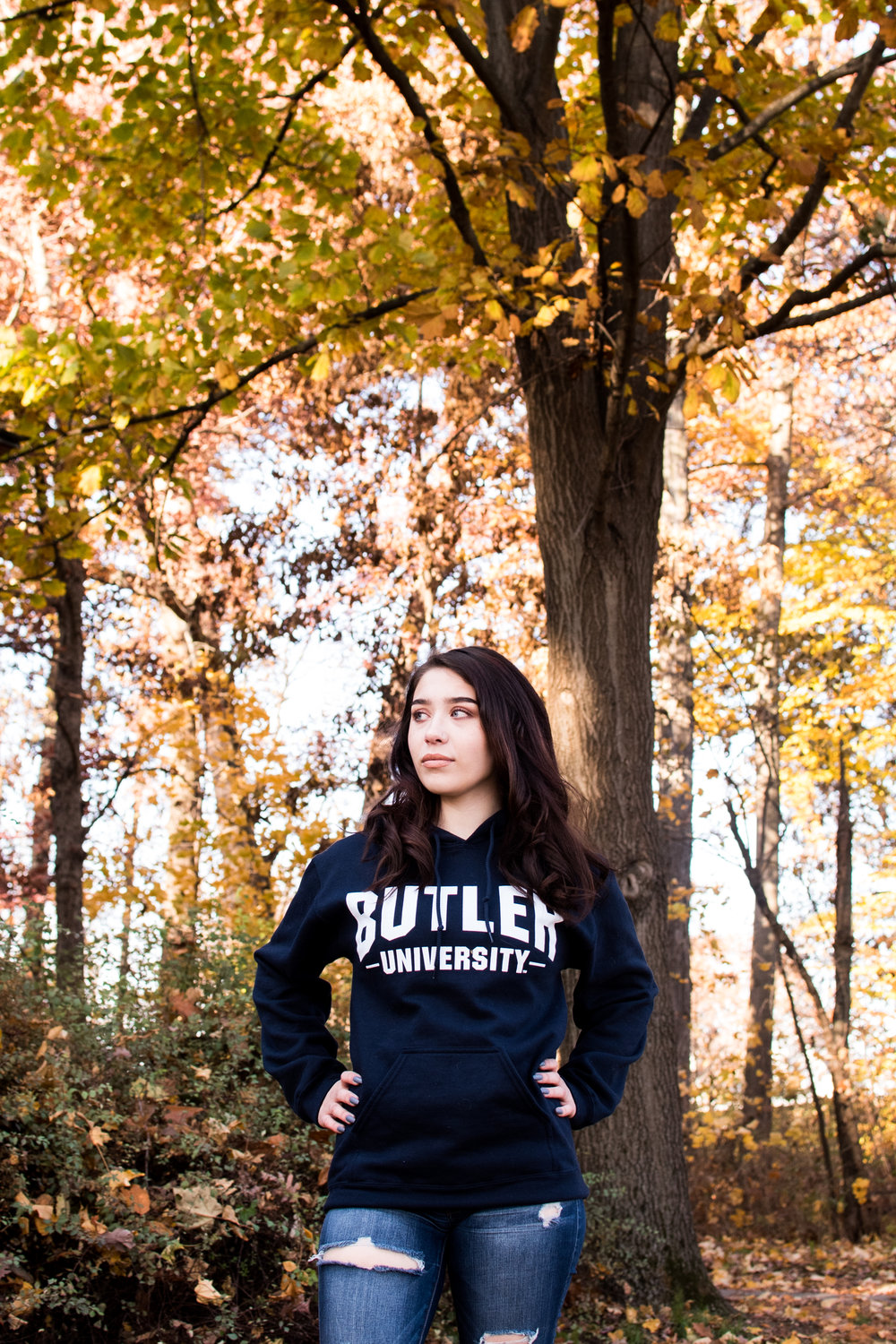 Kyla Jo Photography // Senior Photographer // Muncie Indiana Senior Photos // Muncie Indiana Photographer // Butler Bulldogs // College Acceptance