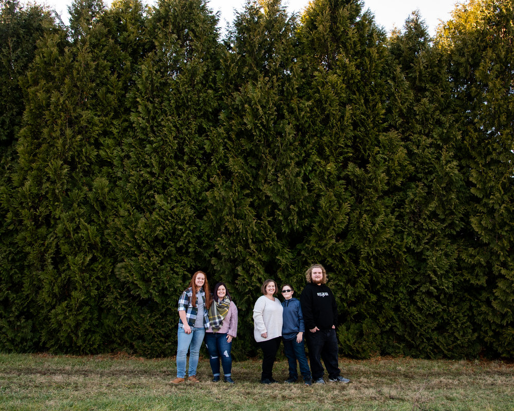 Kyla Jo Photography // Muncie Indiana Photographer // Family Photos // Whitetail Tree Farm // Siblings // Winter Photo Shoot // Christmas Tree Farm Photo Session