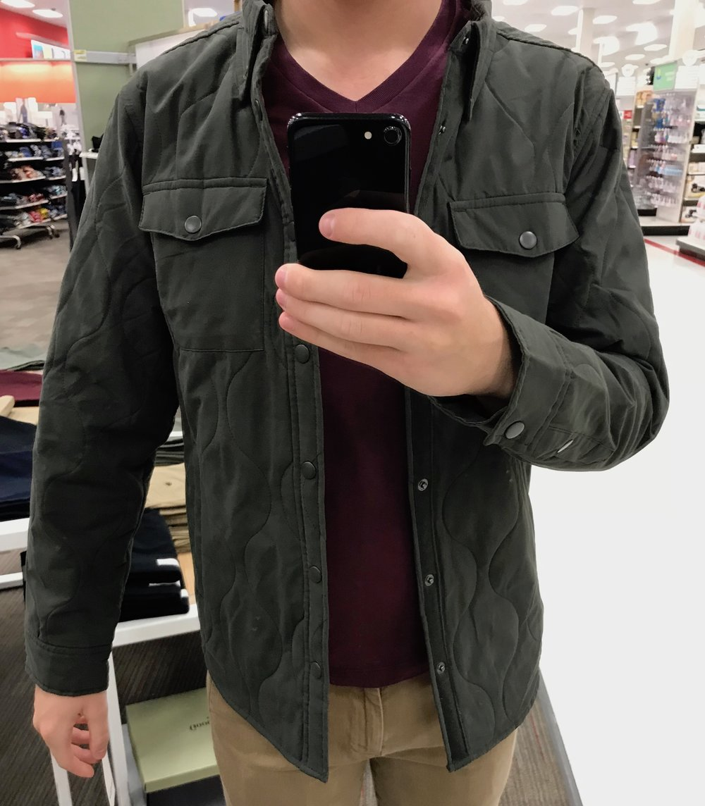 Green Field Jacket - $39.99