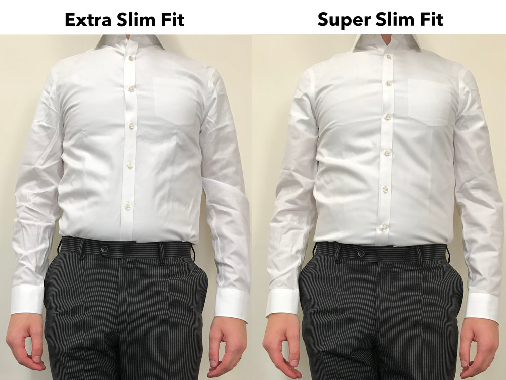 A Review And Comparison Of The New 39 Super Slim Fit 39 Dress