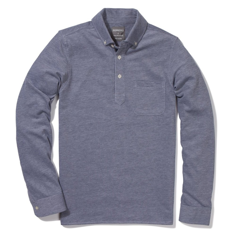 The Jomers long sleeve polo