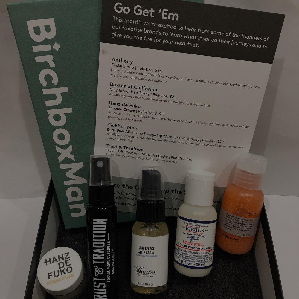 Birchbox Man - $10 per month
