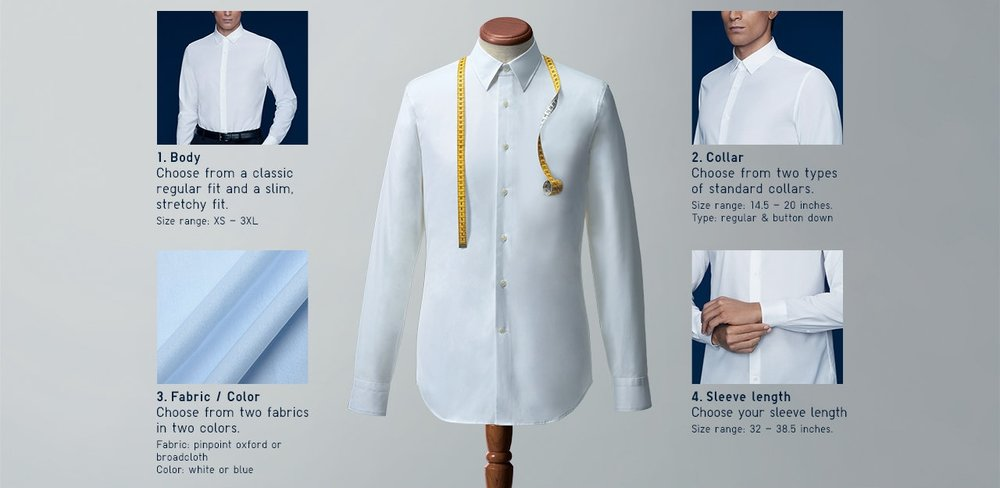 54928e70c83 The New  Custom  Dress Shirts From Uniqlo  A Detailed Review — The ...