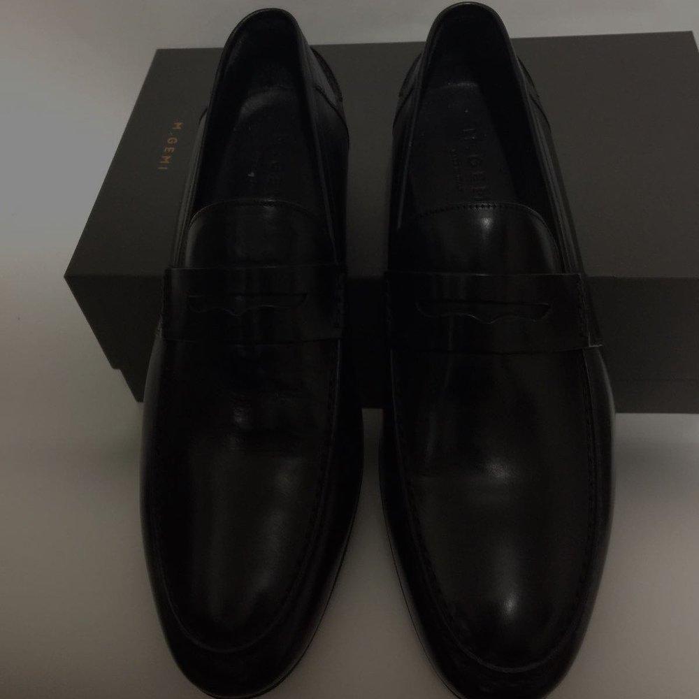 M. Gemi Volo Loafer in Black - $248