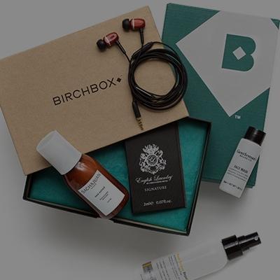 BirchboxMan - $10 per month