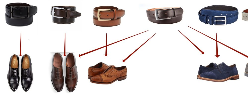 Image result for matching belts and shoes