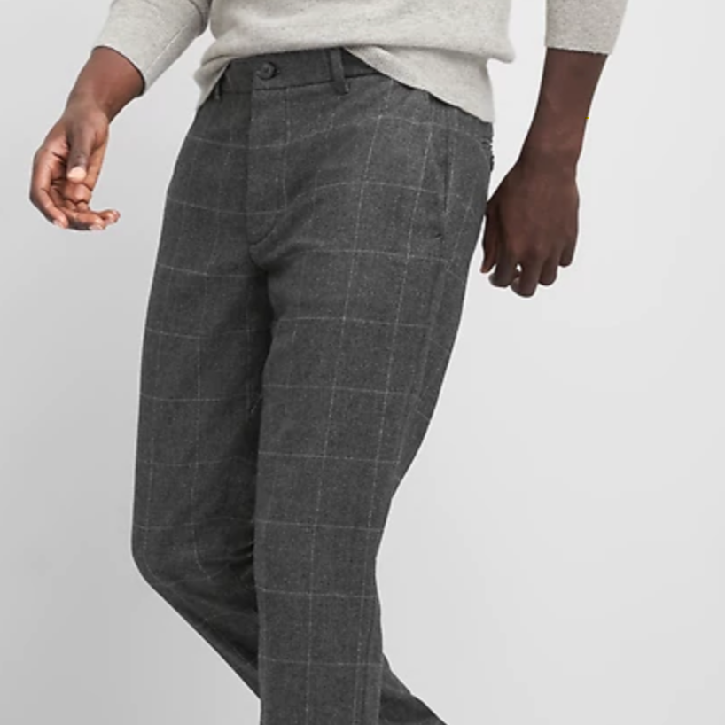 Gap Windowpane Pants - $48 (on sale)