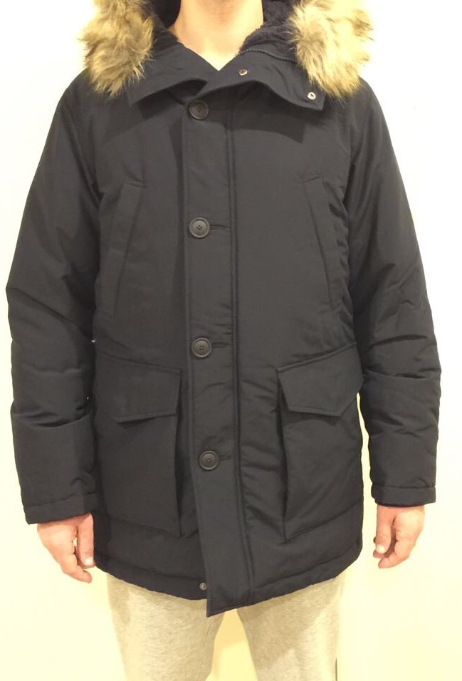 Ultra Warm Down Coat fit