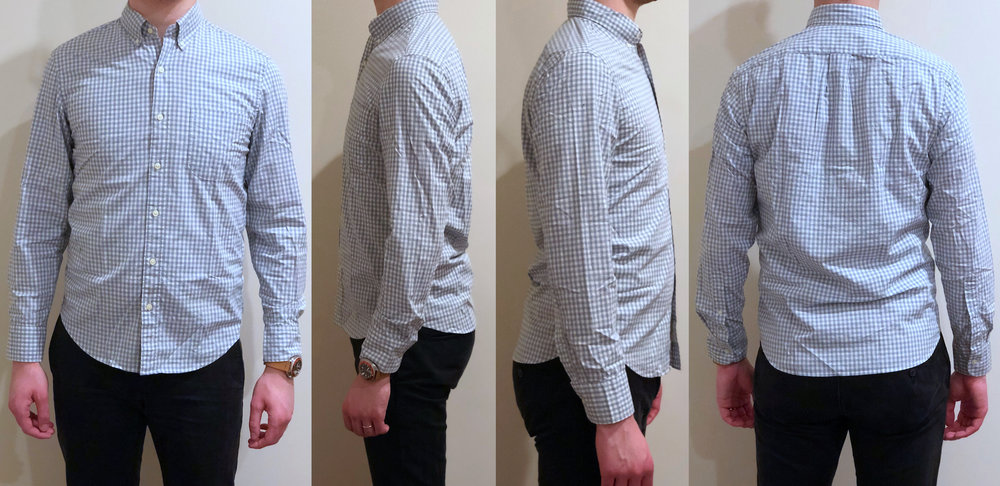 1f5cfe31054713 The chest and waist in the Untucked fit is slightly roomier than the  typical J Crew Slim fit, which is likely what J Crew means when they say  that the ...