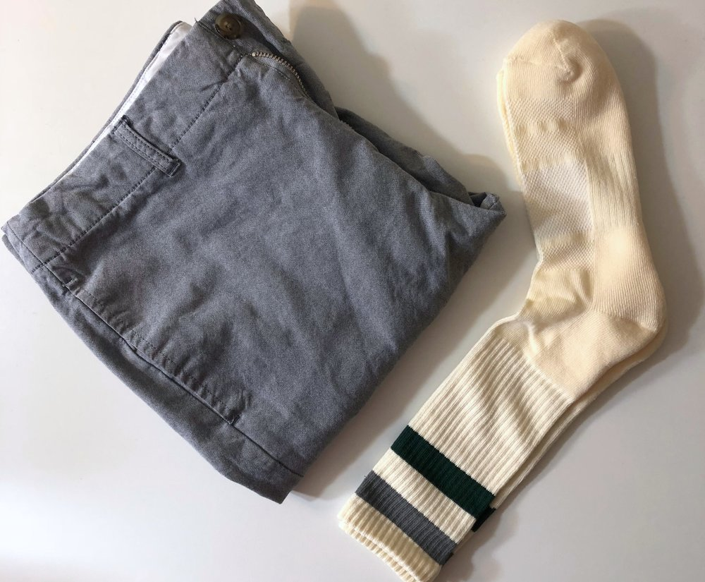 Sock and pants pairing