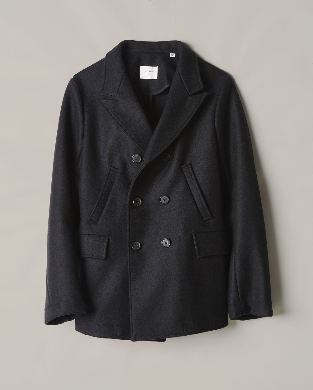 The Bond peacoat from Billy Reid